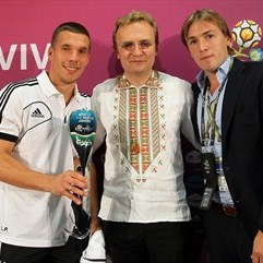 Man of The Match Germany vs Denmark: Lukas Podolski